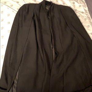 Cape style coat